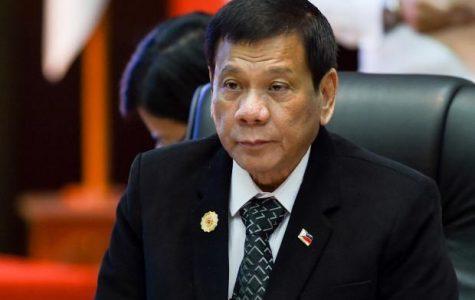 Filipinos at Albany High Support Rodrigo Duterte
