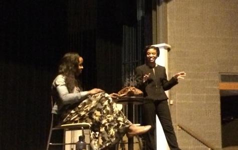 Imani Tate Gives Talk at Albany High
