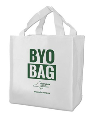 Plastic Bags Banned In New York